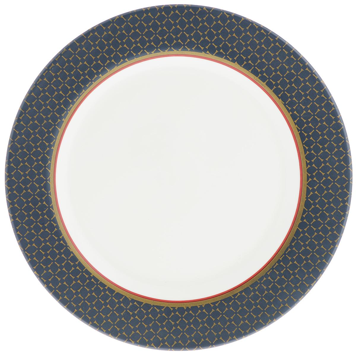 Тарелка обеденная Luminarc Alto Saphir, диаметр 27 см54 009312Обеденная тарелка Luminarc Alto Saphir, изготовленная из высококачественного стекла,имеет изысканный внешний вид. Такой дизайн придется по вкусу и ценителям классики,и тем, кто предпочитает утонченность. Тарелка Luminarc Alto Saphir идеально подойдет для сервировкистола и станет отличным подарком к любому празднику.