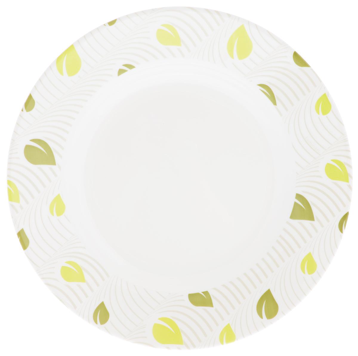 Тарелка глубокая Luminarc Amely, диаметр 22 см54 009312Глубокая тарелка Luminarc Amely выполнена из ударопрочного стекла. Она прекрасно впишется в интерьер вашей кухни и станет достойным дополнением к кухонному инвентарю. Тарелка Luminarc Amely подчеркнет прекрасный вкус хозяйки и станет отличным подарком.