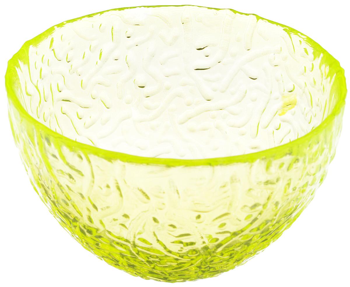 Салатник Ninaglass Ажур, цвет: неоновый желтый, диаметр 12 см54 009312Салатник Ninaglass Ажур выполнен извысококачественного стекла и имеет рельефную поверхность. Он прекрасно впишется в интерьервашей кухни и станет достойным дополнением ккухонному инвентарю. Не рекомендуется использовать вмикроволновой печи и мыть в посудомоечноймашине.