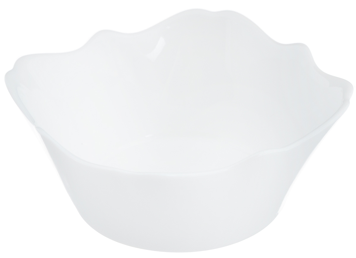 Салатник Luminarc Authentic White, 12 х 12 смJ1301Салатник Luminarc Authentic White выполнен из ударопрочного стекла. Дизайн придется по вкусу и ценителям классики, и тем, кто предпочитает утонченность и изысканность. Салатник Luminarc Authentic White идеально подойдет для сервировки стола и станет отличным подарком к любому празднику.