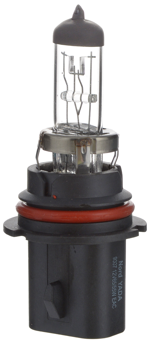 Лампа автомобильная галогенная Nord YADA Clear, цоколь HB5 (9007), 12V, 65/55W10503Лампа автомобильная галогенная Nord YADA Clear - это электрическая галогенная лампа с вольфрамовой нитью для автомобилей и других моторных транспортных средств. Виброустойчива, надежна, имеет долгий срок службы. Галогенные лампы предназначены для использования в фарах ближнего, дальнего и противотуманного света. Серия Clear обеспечивает водителю классический оттенок светового пятна на дороге, к которому привыкло большинство водителей.