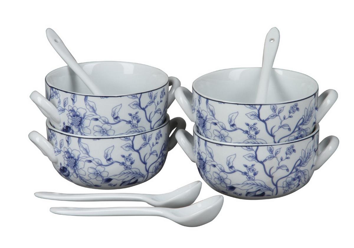 Набор из 4-х бульонных чашек Rosenberg. 9302115510набор из 4-х бульонных чашек, размер одной чашки 14 х 11 х 5.5 см , 260мл