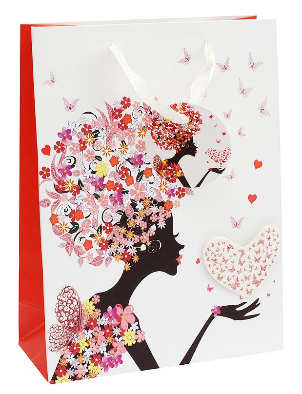 Пакет подарочный Белоснежка Весеннее настроение, 18 х 24 х 8 смRSP-202SПодарочный пакет Весеннее настроение выполнен из качественной плотной бумаги с хорошей печатью, объемные элементы на пакете придают дополнительный яркий акцент.