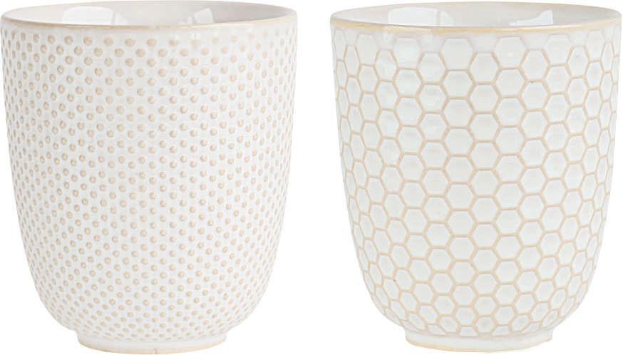 Набор чашек Asa Selection Linna, цвет: белый, 4 шт. 90410/071115510Набор LINNA из 4х чашек. Диаметр 7,5 см, высота 8,2 см. Материал: фарфор.