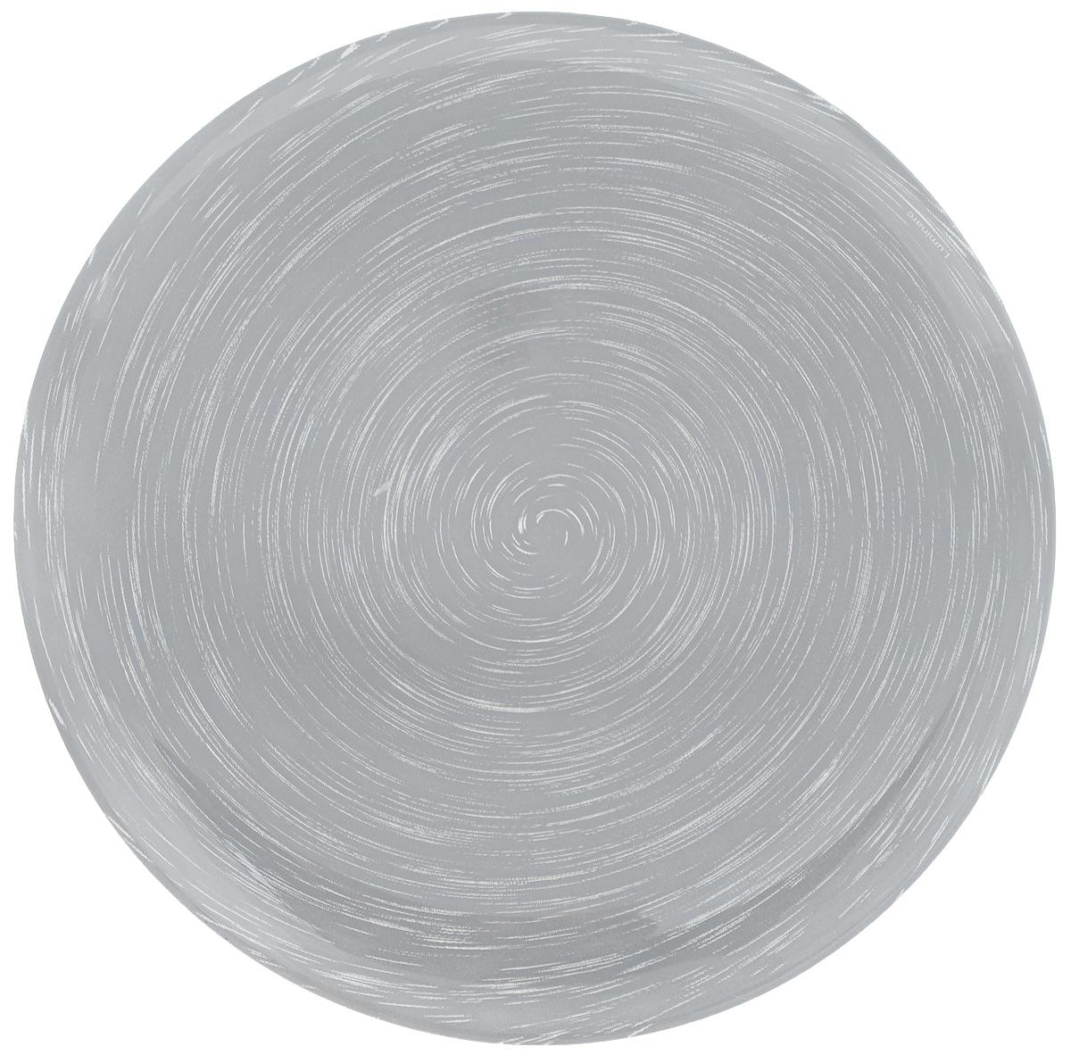 Тарелка десертная Luminarc Stonemania Grey, диаметр 20,5 см115510Десертная тарелка Luminarc Stonemania Grey, изготовленная из ударопрочного стекла, имеет изысканный внешний вид. Такая тарелка прекрасно подходит как для торжественных случаев, так и для повседневного использования. Идеальна для подачи десертов, пирожных, тортов и многого другого. Она прекрасно оформит стол и станет отличным дополнением к вашей коллекции кухонной посуды.