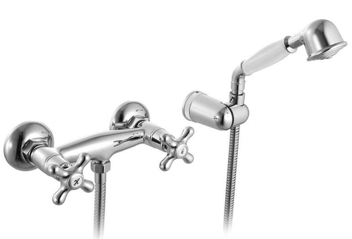 Смеситель для душа, 37000T4CK, Jeals, комплектныйBL505Керамические кран-буксыс углом поворота 180 градусов. В комплекте: гибкий шлангиз нержавеющей стали 1,5 мс системами Double Lock и Twist Free,настенный держатель для лейкис креплением, душевая лейка(1 режим: Rain), эксцентрикис отражателями. Материал: латунь,полиамид, стекловолокно, керамика, пластик, нержавеющая сталь