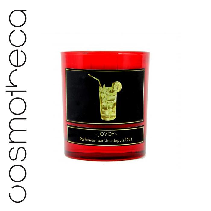Jovoy Paris Свеча ароматизированная Absolu De Mojito 185 г74-0060Очевидная отсылка к Хемингуэю, прославившему коктейль мохито. Теперь вся свежесть мяты и рома заключена в свече, которую осталось лишь зажечь.
