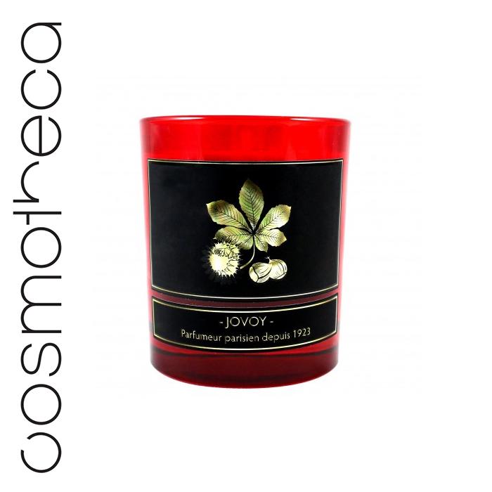 Jovoy Paris Свеча ароматизированная Marron 185 гRG-D31SСвеча, идеально подходящая для осенних вечеров.Аромат жаренных на огне каштанов с щепоткой специй.