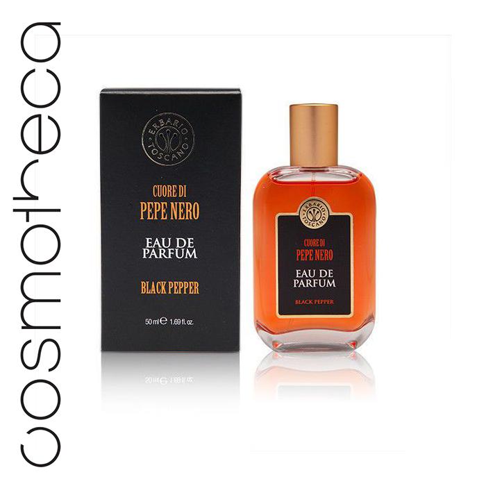 Erbario Toscano Туалетная вода Черный перец 50 мл1301210Черный перец всегда был известен как король специй; свежесобранный, он источает чрезвычайно интенсивный, провокационный аромат.Верхние ноты:Цитрусовые, пряные – бразильский апельсин, сицилийский лимон, аргентинский грейпфрут, ягоды индийской розы.Ноты сердца:Цветочные, древесные – египетский жасмин, техасский кедр, индийский черный перец, магнолия.Ноты базыДревесные, амбровые – индонезийское пачули, ветивер из Гаити, древесная кора, амбра.
