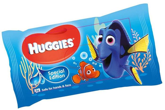 Huggies Влажные салфетки для детей Disney 56 штMP59.3DСпециальная летняя коллекция влажных салфеток Huggies с героем нового анимационного фильма от Disney/Pixar. Всеми любимая голубая рыбка Дори (Dory), известная зрителям по анимационному фильму В поисках Немо, возвращается на экран. Благодаря уникальной многослойной текстуре влажные салфетки Huggies, в новой упаковке с полюбившимся героем, прекрасно впитывают загрязнения. В большинстве случаев достаточно одной влажной салфетки, чтобы кожа малыша снова стала чистой. Особенности:- Безопасны для кожи рук и лица- Без спирта и парабенов- Уникальный материал салфетки - Содержат Алоэ и Витамин Е.Товар сертифицирован.