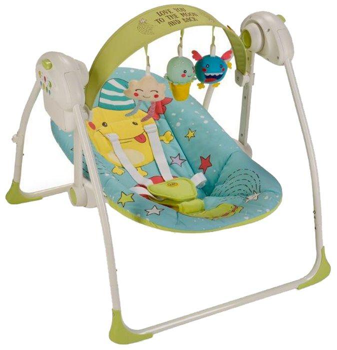 Happy Baby Электрокачели Jolly Blue -