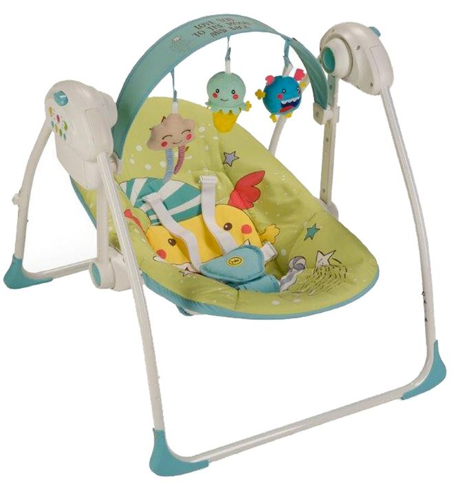 Happy Baby Электрокачели Jolly Green -