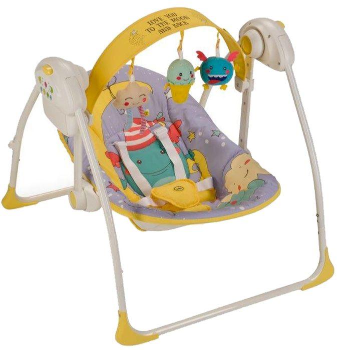 Happy Baby Электрокачели Jolly Violet -