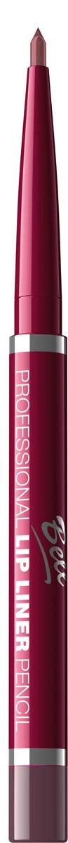 Bell Карандаш для губ Professional Lip Liner Pencil 4 гр5010777139655Этот карандаш позволит Вам создать идеально-точный контур губ и предотвратит растекание помады и блеска.Он очень удобен в применении и не нуждается в заточке. Устойчивая и супермягкая текстура карандаша легко наносится и растушевывается. Благодаря входящим в состав натуральным маслам ивоску, увлажняет и смягчает кожу губ. Тон 4