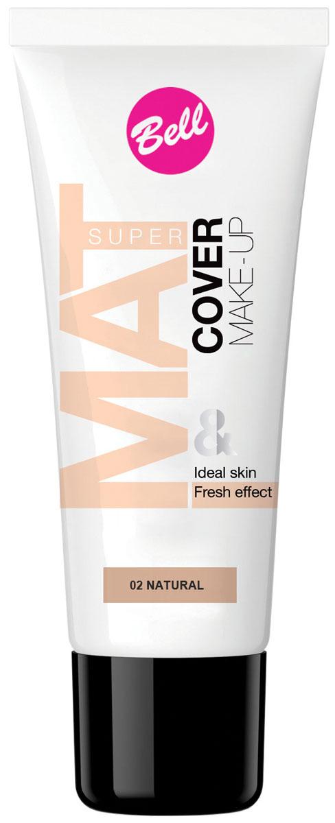 Bell Флюид матирующий тональный, Стойкий Эффект Super Mat Cower Make-up Foundation Тон 2, 30 грBflSM002Обеспечивает матовый макияж в течение всего дня. Эффективно скрывает недостатки кожи, гарантируя свежий и здоровый тон лица.Матовый стойкий макияж в течение всего дня.Особенности состава: Содержит комплекс активных витаминов C и E, которые ухаживают и увлажняют кожу.Способ применения: Нанести тонким слоем на кожу лица