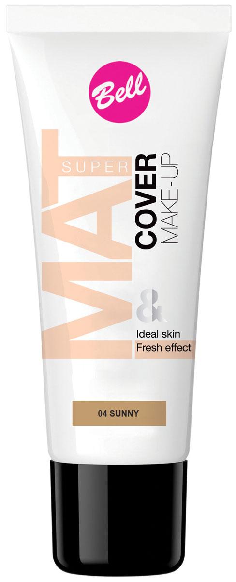 Bell Флюид матирующий тональный, Стойкий Эффект Super Mat Cower Make-up Foundation 30 гр28032022Обеспечивает матовый макияж в течение всего дня. Эффективно скрывает недостатки кожи, гарантируя свежий и здоровый тон лица.Матовый стойкий макияж в течение всего дня.Особенности состава: Содержит комплекс активных витаминов C и E, которые ухаживают и увлажняют кожу.Способ применения: Нанести тонким слоем на кожу лица