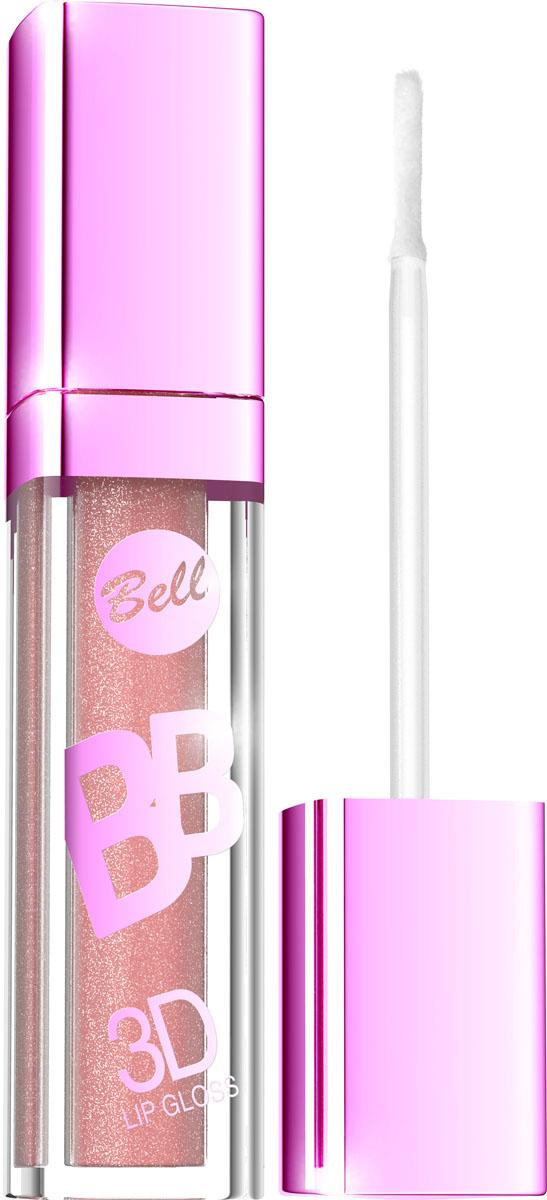 """Bell Блеск Визуально Увеличивающий Объем Губ Bb 3d Lip Gloss Тон 2, 6 мл772823Xрустальный блеск и эффект разглаживания! Секрет действия блеска для губ заключается в формуле, содержащей """"Crystal Shine Complex"""" – маленькие частички, отражающие свет и обеспечивающие эффект 3D.Специально подобранные полимеры значительно улучшают увлажнение губ. Состав кондиционирующих компонентов увеличивает гибкость эпидермиса и гарантирует ощущение увлажненных губ. Легкая, кремовая формула не образует комочков и не склеивает губы.Цветовая палитра включает 6модных оттенков. Тон 2"""