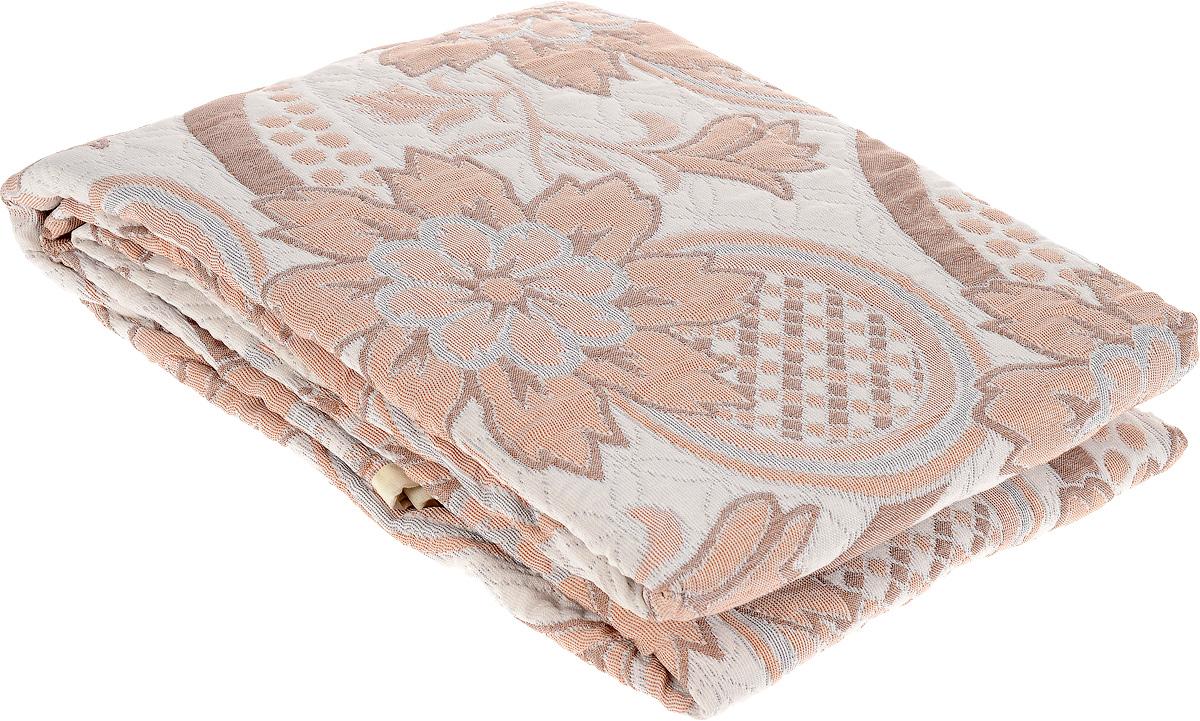 Покрывало Arya Tay-Pen, цвет: светло-серый, коричневый, 240 х 240 см. F0000797_рис. 1ES-412Покрывало Arya Tay-Pen прекрасно оформит интерьер спальни или гостиной. Изделие изготовлено из 100 полиэстера. Жаккардовые покрывала уникальны, так как они практичны и универсальны в использовании. Жаккардовые ткани, хорошо сохраняют окраску, слабо подвержены влиянию перепадов температур. Своеобразный рельефный рисунок, который получается в результате сложного переплетения на плотной ткани, напоминает гобелен. Изделие долговечно, надежно и легко стирается. Покрывало Arya Tay-Pen не только подарит тепло, но и гармонично впишется в интерьер вашего дома.