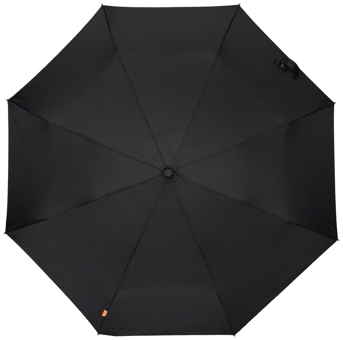 Зонт мужской Эврика Кастет, механика, 2 сложения, цвет: черный, золотой. 9620245100032/35449/3537AОригинальный мужской зонт Эврика станет отличным подарком для вашего друга.Зонт состоит из восьми спиц и стержня, изготовленных из металла. Купол выполнен из качественного нейлона, который не пропускает воду.Изделие имеет механический способ сложения: и купол, и стержень открываются и закрываются вручную до характерного щелчка. Ручка, изготовленная из пластика, выполнена в виде кастета. К зонту прилагается чехол, который закрывается на кнопку.Этот зонт вызовет восторг не только у вас, но и у окружающих.