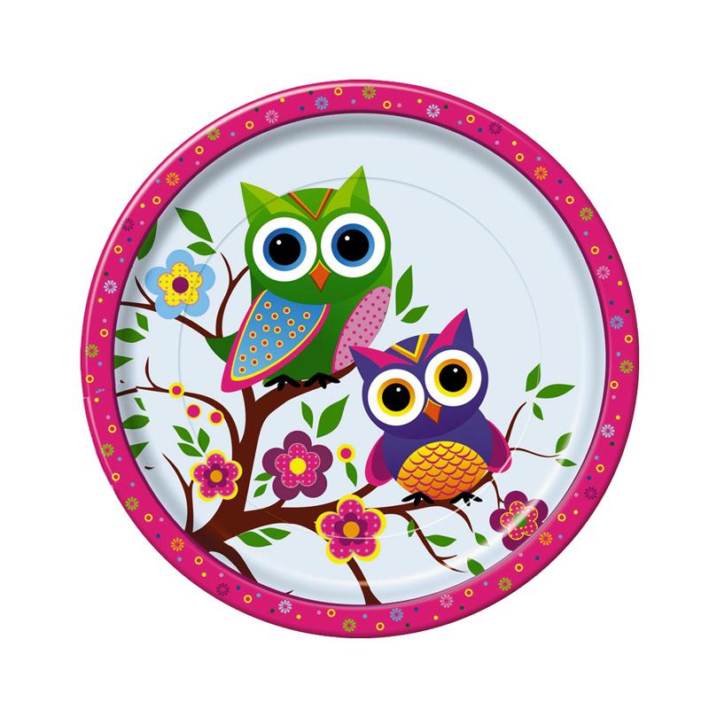 Набор одноразовых тарелок Bulgaree Green Совы, диаметр 23 см, 10 штVT-1520(SR)Набор Bulgaree Green Совы состоит из 10 тарелок, выполненных из картона с защитным покрытием и предназначенных для одноразового использования. Используются для холодных пищевых продуктов. Одноразовые тарелки будут незаменимы при поездках на природу, пикниках и других мероприятиях. Они не займут много места, легки и самое главное - после использования их не надо мыть.Диаметр тарелки: 23 см.