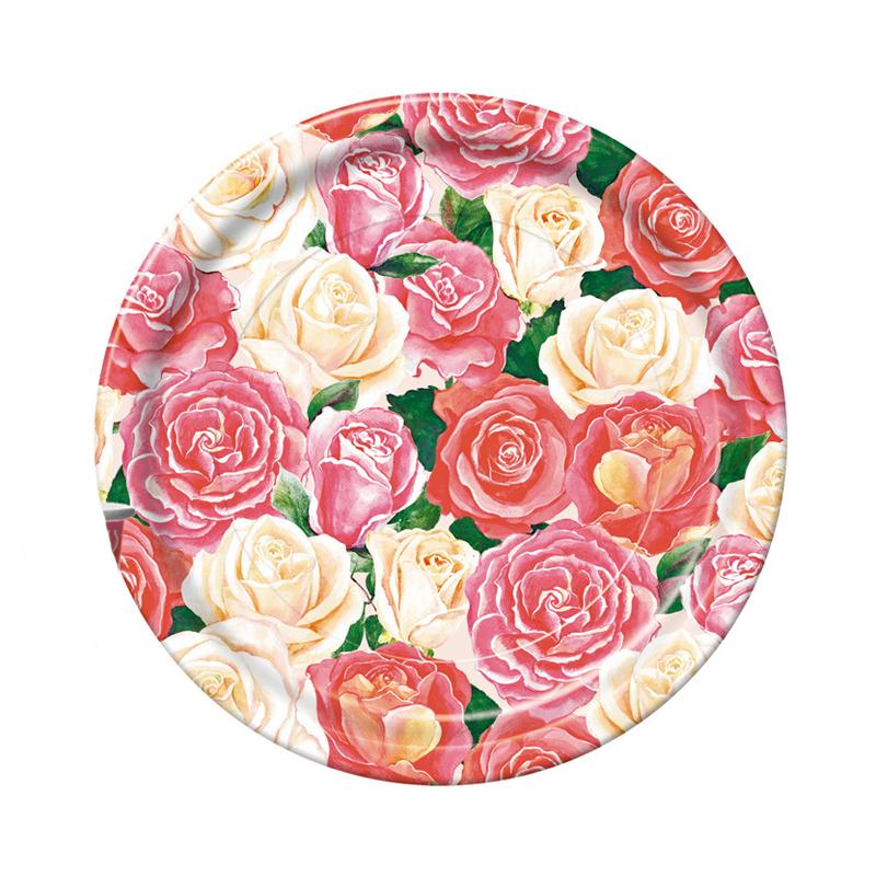Набор одноразовых тарелок Bulgaree Green Розовый букет, диаметр 23 см, 10 штVT-1520(SR)Набор Bulgaree Green Розовый букет состоит из 10 тарелок, выполненных из картона с защитным покрытием и предназначенных для одноразового использования. Используются для холодных пищевых продуктов. Одноразовые тарелки будут незаменимы при поездках на природу, пикниках и других мероприятиях. Они не займут много места, легки и самое главное - после использования их не надо мыть.Диаметр тарелки: 23 см.