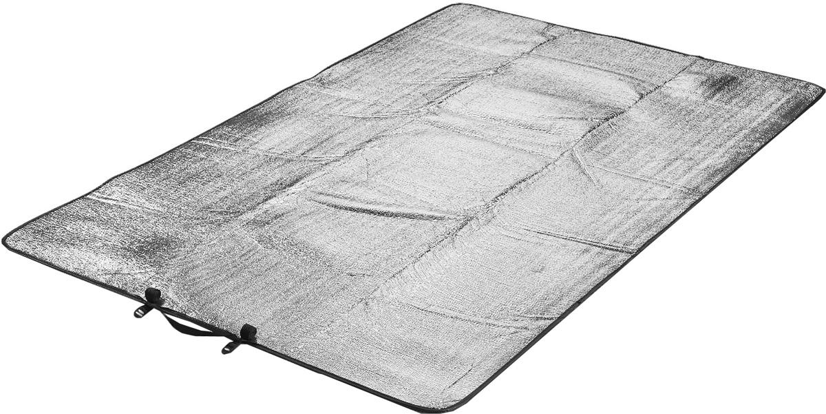Коврик туристический High Peak Alumatte Duo, цвет: серый металлик, 190 х 120 х 0,2 см41095Туристический коврик High Peak Alumatte Duo очень легкий, изолирует от холода, компактный, непромокаемый. Он станет необходимым атрибутом любого туристического похода, выездов за город, рыбалки. Коврик выполнен из высококачественного полиэтилена и алюминиевой фольги. Встроенная система застежки позволяет компактно свернуть коврик и разместить его внутри или снаружи рюкзака.