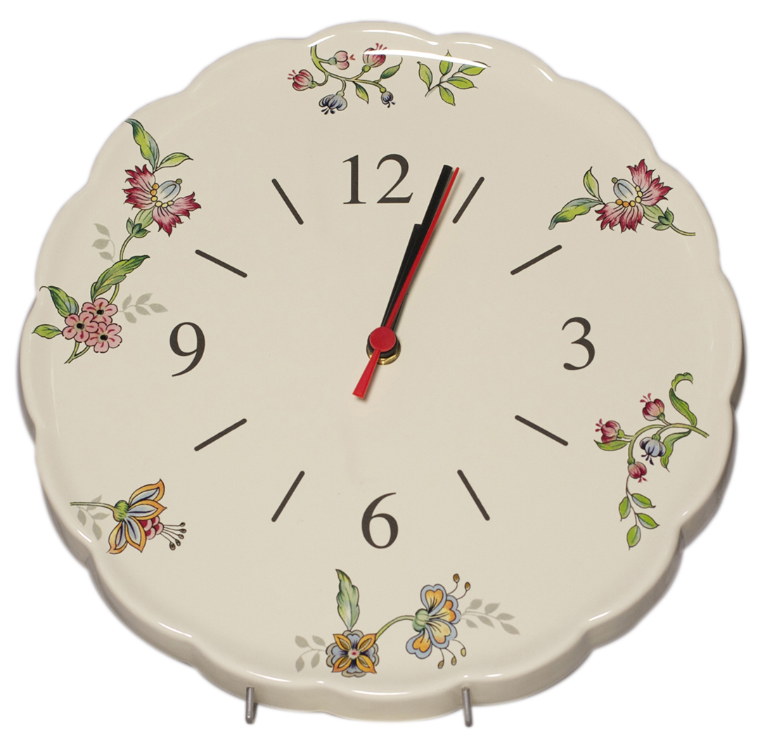 Часы Nuova Cer Прованс, 30 см94672Часы керамические 30см Прованс