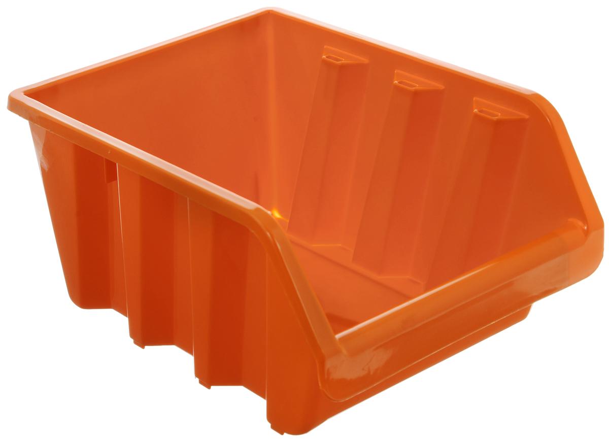 Лоток для метизов Blocker, цвет: оранжевый, 24,5 х 17 х 12,5 смPsr 1440 li-2Лоток Blocker, выполненный из высококачественного пластика, предназначен для хранения крепежа и мелкого инструмента. Имеется возможность соединения нескольких лотков одинакового размера в единый горизонтальный блок.