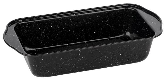 Форма для запекания Walmer Black Marble, 29,5 х 15 х 6,5 смFS-91909Прямоугольная форма для выпечки Walmer Black Marbler, выполненная из высококачественной углеродистой стали, гарантирует великолепный результат. Материал корпуса, эффективность которого усилена вкраплениями дополнительного слоя твердых частиц, обеспечивает максимальную теплоотдачу, экономя время приготовления. Двухслойное антипригарное покрытие Xynflon полностью безопасно и не выделяет вредных веществ при нагреве. Форма имеет эргономичные ручки. Можно мыть в посудомоечной машине.