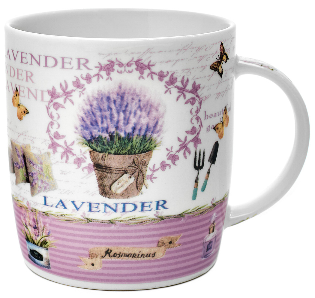Кружка Walmer Lavender in pots, 370 мл