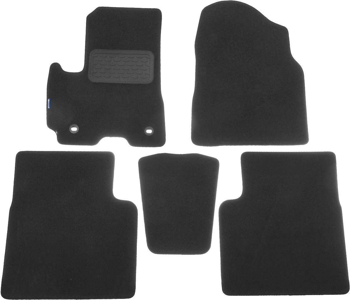 Коврики в салон автомобиля Novline-Autofamily, для Lifan X60 2012->, 5 шт300240Коврики в салон Novline-Autofamily не только улучшат внешний вид салона вашего автомобиля, но и надежно уберегут его от пыли, грязи и сырости, а значит, защитят кузов от коррозии. Текстильные коврики для автомобиля мягкие и приятные, а их основа из вспененного полиуретана не пропускает влагу. Автомобильные коврики в салон учитывают все особенности каждой модели авто и полностью повторяют контуры пола. Благодаря этому их не нужно будет подгибать или обрезать. И самое главное - они не будут мешать педалям.Текстильные автомобильные коврики для салона произведены из высококачественного материала, который держит форму и не пачкает обувь. К тому же, этот материал очень прочный (его, к примеру, не получится проткнуть каблуком). Некоторые автоковрики становятся источником неприятного запаха в автомобиле. С текстильными ковриками Novline-Autofamily вы можете этого не бояться. Ковры для автомобилей надежно крепятся на полу и не скользят, что очень важно во время движения, особенно для водителя. Коврики из текстиля с основой из вспененного полиуретана легко впитывают и надежно удерживают грязь и влагу, при этом всегда выглядят довольно опрятно. И чистятся они очень просто: как при помощи автомобильного пылесоса, так и различными моющими средствами.