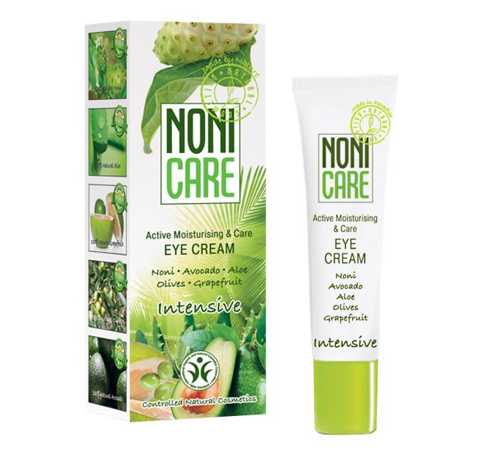 Nonicare Увлажняющий крем для век Intensive - Eye Cream 15 мл4260254460074Ультралегкая формула крема из сока фрукта Нони, алое вера, масла оливы, грейпфрута и авокадо мгновенно впитывается и дарит потрясающее ощущение комфорта, тонуса и увлажненности. Улучшает микроциркуляцию и лимфодренаж, быстро устраняет следы усталости, темные круги и отеки под глазами. Не провоцирует ночных отеков. Предупреждает появление пигментации. Крем успокаивает кожу и придает ей эластичность, устраняет покраснения. Снимает напряжение и признаки усталости. Масло авокадо и оливы удерживают влагу, питают кожу и восстанавливают ее эластичность, устраняют сухость, покраснения и раздражения. Экстракты грейпфрута и цветков горького апельсина оказывают антиоксидантное действие, детоксицируют клетки кожи, предупреждают появление пигментации, темных кругов и отеков под глазами, улучшают эластичность кожи. Крем борется с мимическими морщинками – «гусиными лапками» и предотвращает их появление. Является идеальной основой под макияж. Рекомендован с 25 лет в качестве основного ухода, с 18 лет курсами (28-30 дней). Подходит для чувствительных глаз.