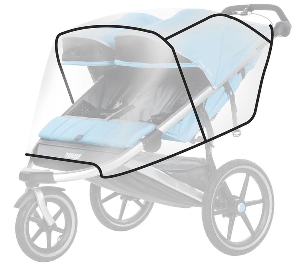 Thule Дождевой чехол для коляски Urban Glide/Glide2 люлька для коляски thule thule mp002xc000cd