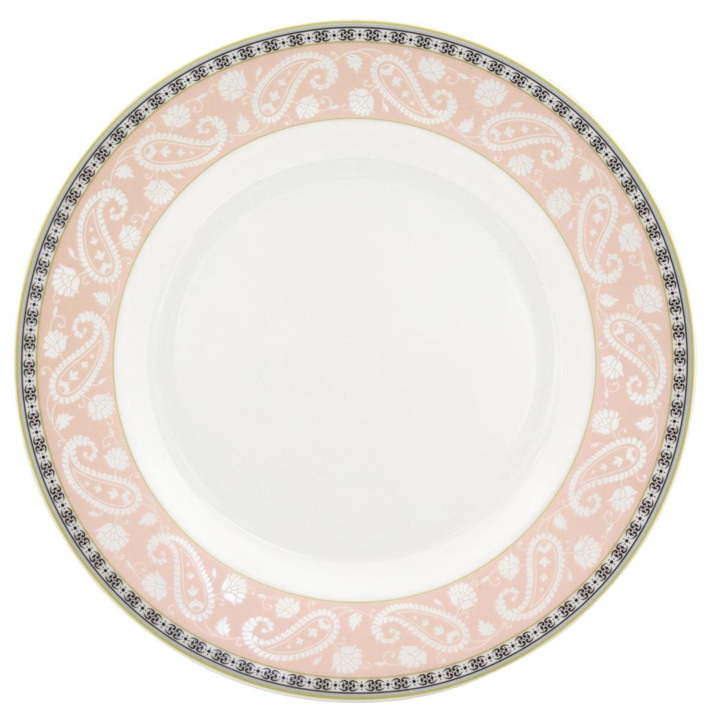 Набор обеденных тарелок Esprado Arista Rose, диаметр 22,5 см, 6 шт115510Набор Esprado Arista Rose состоит из шести обеденных тарелок, выполненных из высококачественного костяногофарфора. Над созданием дизайна коллекций посуды из фарфора Esprado работает международная команда высококлассных дизайнеров, не только воплощающих в жизнь все новейшие тренды, но также и придерживающихся многовековых традиций при создании классических коллекций. Посуда из костяного фарфора будет идеальным выбором, для тех, кто предпочитает красивую современную посуду из высококачественного материала, которая отличается высокой прочностью и подходит для ежедневного использования. Посуда из коллекции Arista Rose прекрасно подойдет для уютного домашнего ужина, придав ему легкий оттенок торжественности. Тонкий огуречный узор в сочетании с нежным розовым цветом создает ощущение мягкости и тепла. Можно использовать в микроволновки печи и мыть в посудомоечной машине.