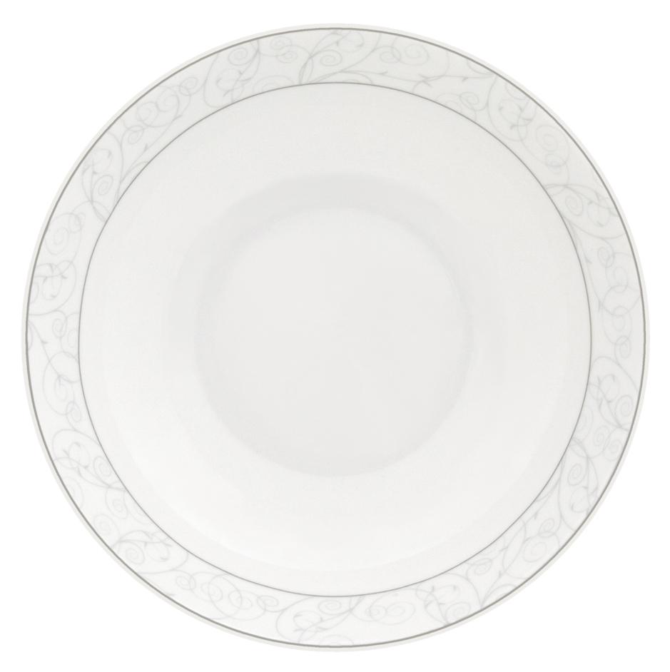 Набор суповых тарелок Esprado Florestina, цвет: белый, диаметр 20 см, 6 штFLO020SE301Набор Esprado Florestina состоит из шести суповых тарелок, выполненных из высококачественного костяногофарфора. Над созданием дизайна коллекций посуды из фарфора Esprado работает международная команда высококлассных дизайнеров, не только воплощающих в жизнь все новейшие тренды, но также и придерживающихся многовековых традиций при создании классических коллекций. Посуда из костяного фарфора будет идеальным выбором, для тех, кто предпочитает красивую современную посуду из высококачественного материала, которая отличается высокой прочностью и подходит для ежедневного использования. Сдержанный блеск серебра в сочетании с утонченными узорами на идеальном фоне из высококачественного костяного фарфора - европейская изысканность коллекции Florestina даже самый обычный ужин превратит в праздник!Можно использовать в микроволновки печи и мыть в посудомоечной машине.