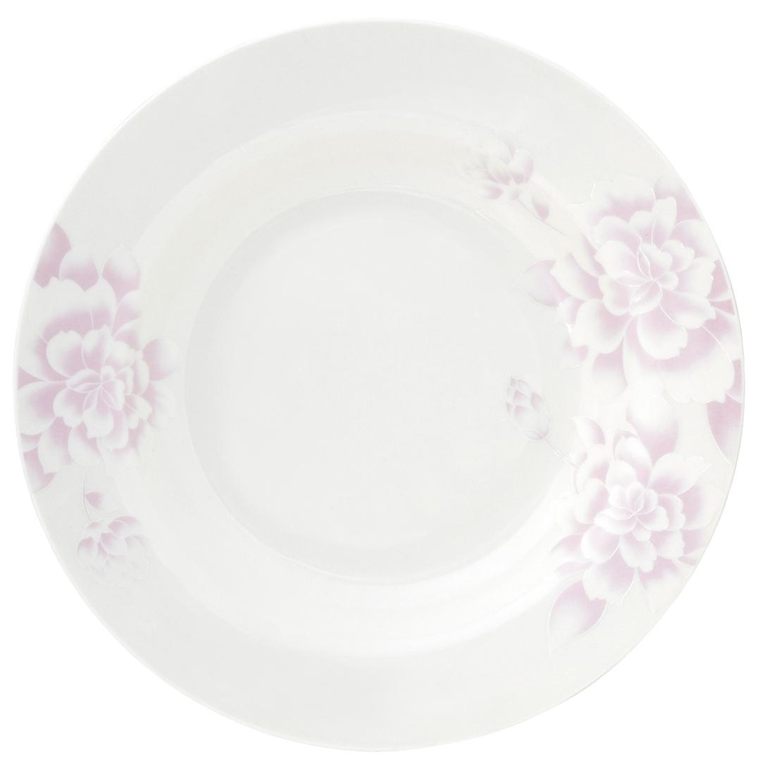 Набор суповых тарелок Esprado Peonies, цвет: белый, светло-розовый, диаметр 23 см, 6 шт54 009312Набор Esprado Peonies состоит из шести суповых тарелок, выполненных из высококачественного твердого фарфора. Над созданием дизайна коллекций посуды из твердого фарфора Esprado работает международная команда высококлассных дизайнеров, не только воплощающих в жизнь все новейшие тренды, но также и придерживающихся многовековых традиций при создании классических коллекций. Посуда из твердого фарфора будет идеальным выбором, для тех, кто предпочитает красивую современную посуду из высококачественного материала, которая отличается высокой прочностью и подходит для ежедневного использования.