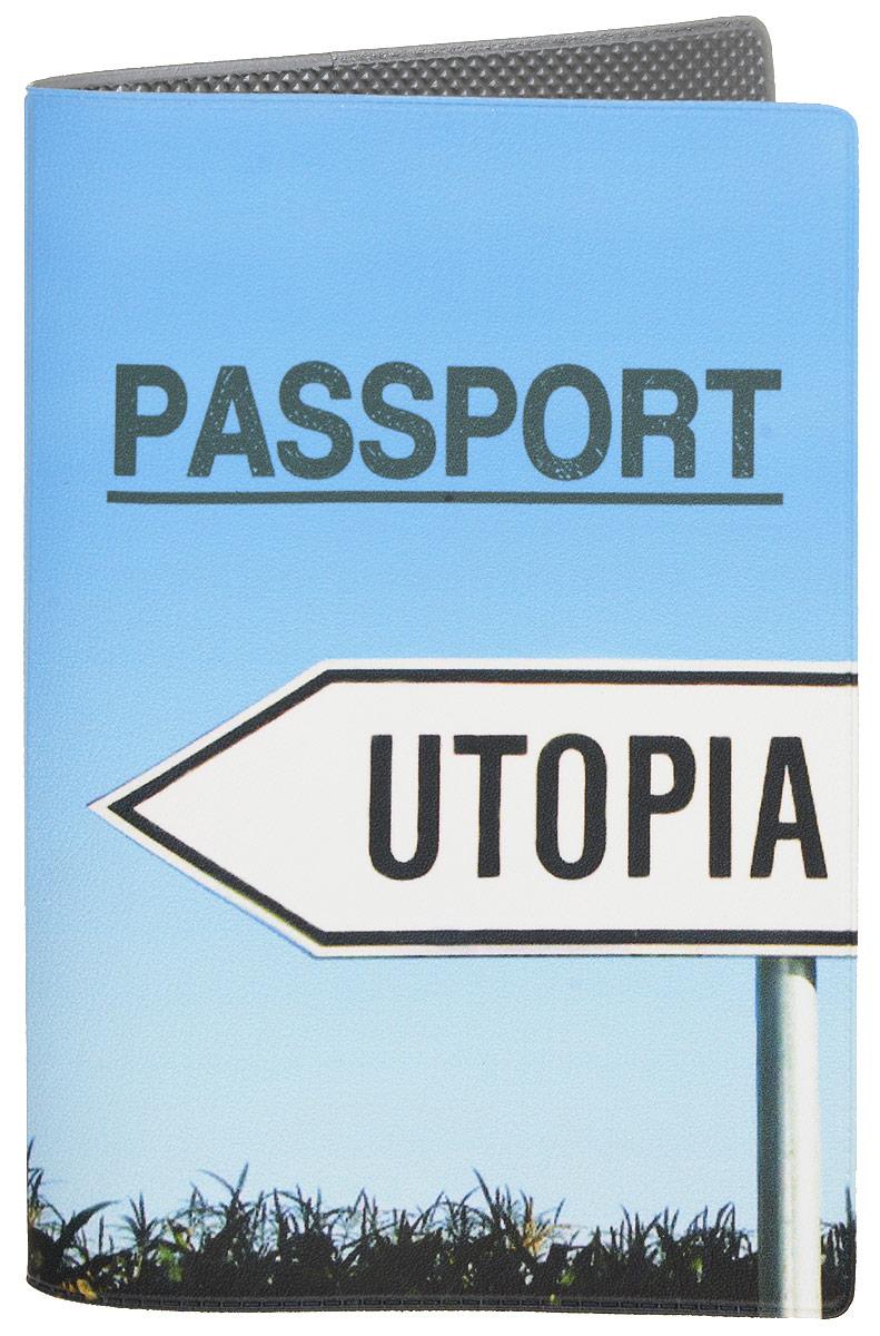 Обложка для паспорта Mitya Veselkov Utopia, цвет: голубой. OZAM411A52_108Обложка для паспорта Mitya Veselkov Utopia не только поможет сохранить внешний вид ваших документов и защитить их от повреждений, но и станет стильным аксессуаром, идеально подходящим вашему образу.Она выполнена из поливинилхлорида, внутри имеет два вертикальных кармашка из прозрачного пластика.Такая обложка поможет вам подчеркнуть свою индивидуальность и неповторимость!Обложка для паспорта стильного дизайна может быть достойным и оригинальным подарком.