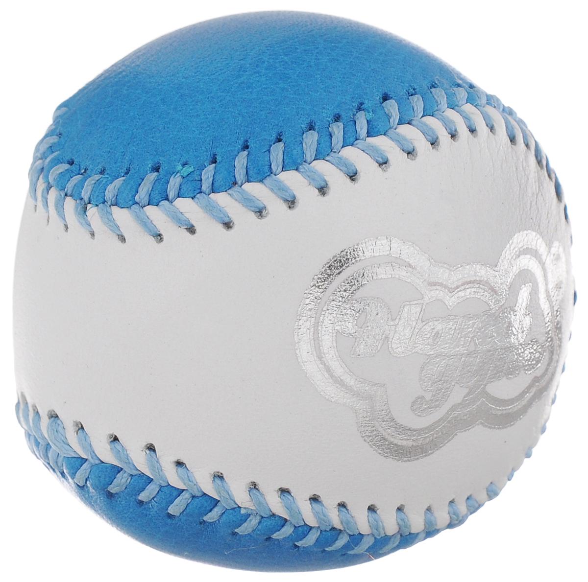 Эспандер кистевой HandGum HandGym, цвет: голубой, белый, диаметр 5 смPB-688LC AmberКистевой эспандер HandGum HandGym - отличный тренажер, который превосходно развивает моторику и силу рук.Эспандер HandGum HandGym выполнен в виде кожаного чехла, внутри которого - жвачка для рук. Эспандер прекрасно подходит для любого возраста, позволяя как эффективно развивать силу самым слабым рукам, так и являясь отличным тренажером даже для профессиональных спортсменов.