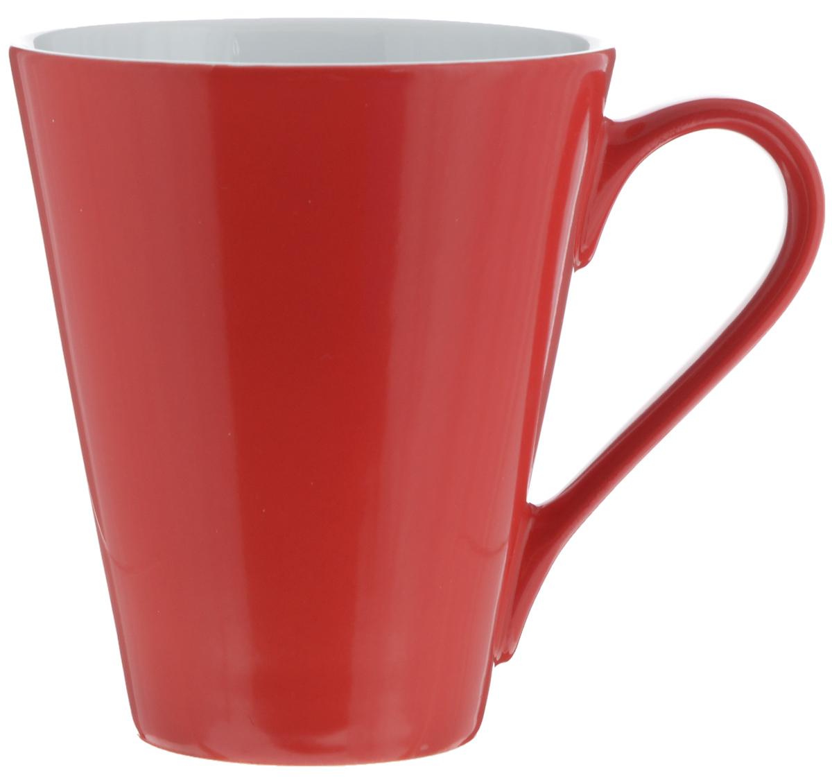 Кружка Yves De La Rosiere Putoisage, цвет: красный, 220 мл115510Кружка Yves De La Rosiere Putoisage изготовлена из высококачественного фарфора и сочетает в себе оригинальный дизайн и функциональность. Такая кружка идеально впишется в интерьер современной кухни, а также станет хорошим и практичным подарком на любой праздник. Диаметр кружки(по верхнему краю): 8,5 см.