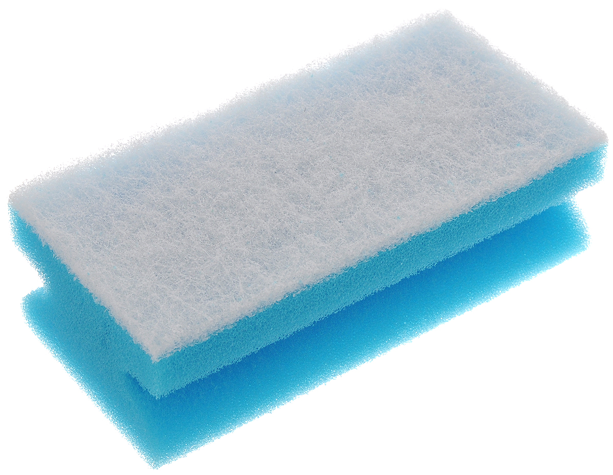 Губка для уборки Paterra Delicato, 13 х 6,5 х 4,5 смSV3182АМГубка Paterra Delicato выполнена из полиуретана и деликатной фибры. Предназначена для уборки помещений и сантехники. Губка идеальна для деликатных поверхностей: стеклокерамики, акрила, фаянса, эмали. Не оставляет царапин, не деформируется и не крошится. Прочный абразивный слой не загрязняется в процессе использования и отлично вымывается водой. Изделие имеет боковые вырезы для удобного захвата рукой.