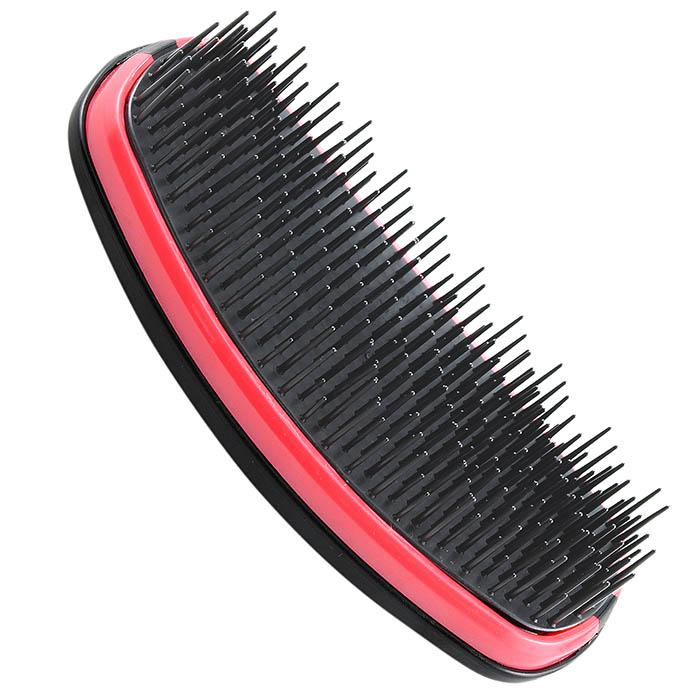 Профессиональная щетка для спутанных волос Salon Professional Tangle PinkSatin Hair 7 BR730MNПрофессиональная щетка для спутанных волос Salon Professional Tangle Pink