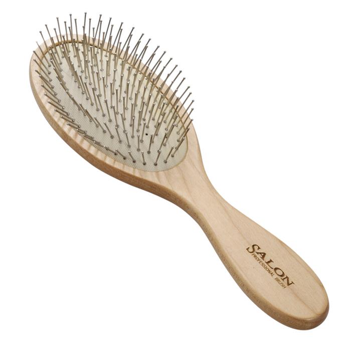 Щетка массажная Salon Professional 72150A, деревянная, зубцы - металлические штифты, L 225 ммSatin Hair 7 BR730MNЩетка массажная Salon Professional 72150A, деревянная, зубцы - металлические штифты, L 225 мм.