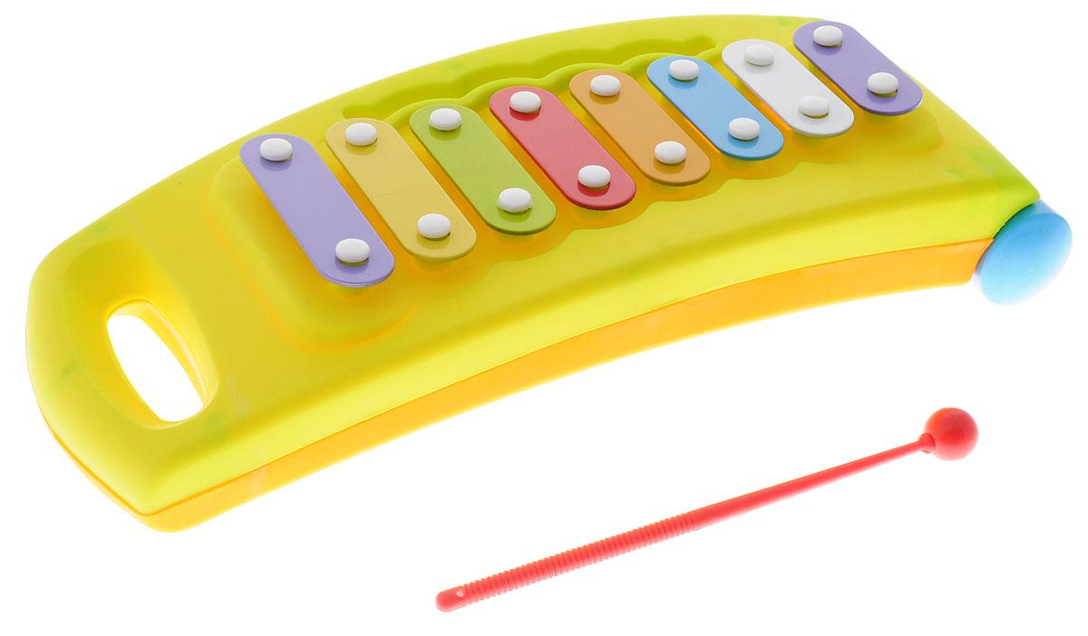 Маша и Медведь Металлофон цвет салатовый - Музыкальные инструменты