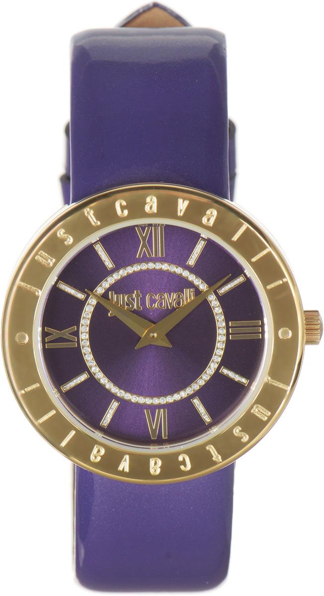 Часы наручные женские Just Cavalli, цвет: фиолетовый. R7251532503BM8434-58AEНаручные женские часы Just Cavalli произведены из материалов самого высокого качества на базе новейших технологий.Они оснащены точным кварцевым механизмом. Корпус часов изготовлен из нержавеющей стали с PVD-покрытием, циферблатинкрустирован стразами и защищен минеральным стеклом. Ремешок выполнен из натуральной лаковой кожи и оснащен классической застежкой.Циферблат круглой формы оснащен римскими цифрами и отметками, а так же двумя стрелками - часовой и минутной. Часы являются водостойкими - 3АТМ.Изделие укомплектовано в стильную фирменную коробку с названием бренда.Наручные часы Just Cavalli созданы для современных девушек, которые не желают потерять свою индивидуальность в городской суете.