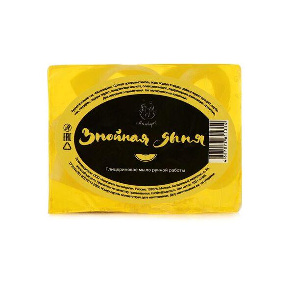 Мыловаров Туалетное мыло Знойная дыня 100 грBE-022-RZ60-002Солнечная дыня спешит к вам с приветом от знойного лета. Сладкий аромат пробудит вашу чувственность, а целебное оливковое масло сделает кожу роскошно бархатистой. Пробудите в себе знойную страстность с нашим мылом Знойная дыня.