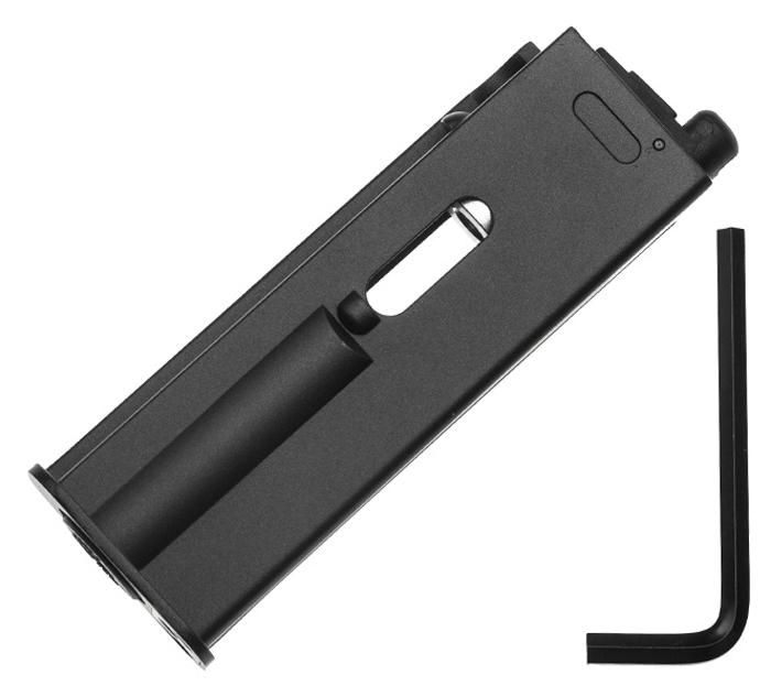 Магазин для Gletcher М712, 4,5 мм. 48478Z90 blackМагазин для пневматического пистолета Gletcher М712 , калибр 4,5 мм