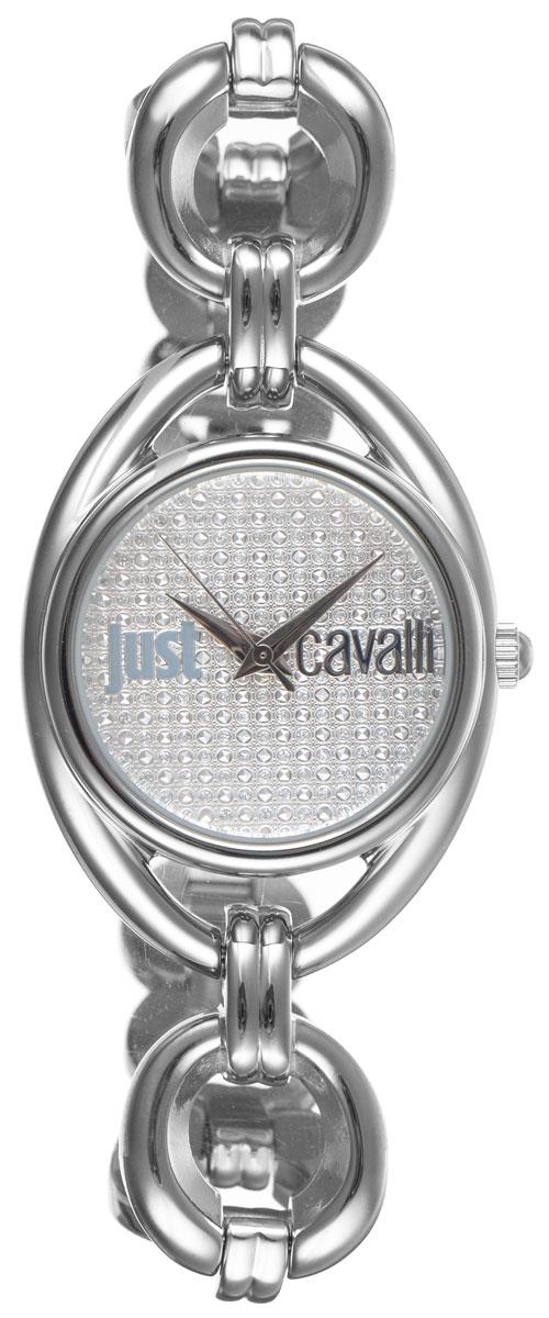 Часы наручные женские Just Cavalli, цвет: серебристый. R7253182502BM8434-58AEНаручные женские часы Just Cavalli произведены из материалов самого высокого качества на базе новейших технологий.Они оснащены точным кварцевым механизмом.Корпус часов изготовлен из нержавеющей стали, циферблат защищен минеральным стеклом.Ремешок выполнен из нержавеющей стали и оснащен удобной застежкой-защелкой, которая позволит моментально снимать и надевать часы без лишних усилий. Циферблат круглой формы оснащен тремя стрелками - часовой, минутной и секундной, инкрустирован стразами Swarovski и оформлен названием бренда. Часы являются водостойкими - 3АТМ.Изделие укомплектовано в стильную фирменную коробку с названием бренда.Наручные часы Just Cavalli созданы для современных девушек, которые не желают потерять свою индивидуальность в городской суете. Изящный стиль, дополненный чарующим сиянием кристаллов, придется по вкусу даже самой взыскательной моднице.