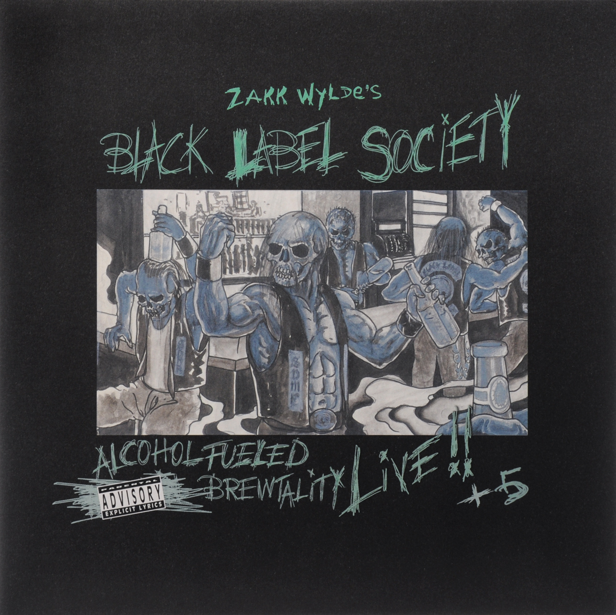 Black Label Society Black Label Society. Alcohol Fueled Brewtality  Live!! +5 (2 LP) heist society