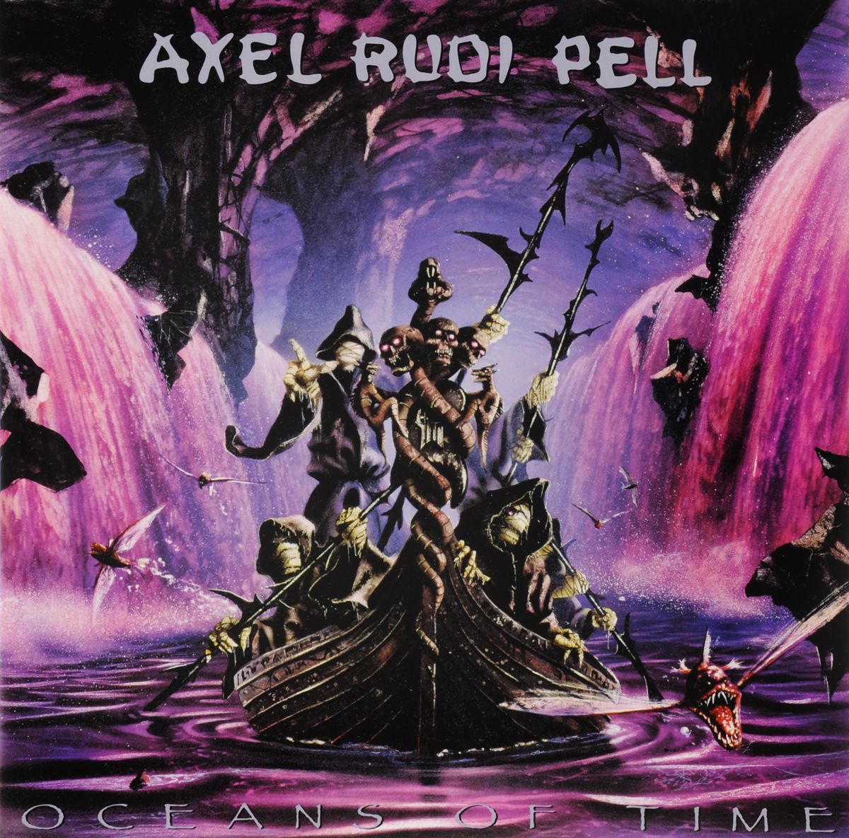 Аксель Руди Пелл Axel Rudi Pell. Oceans Of Time (2 LP + CD) 2015 08