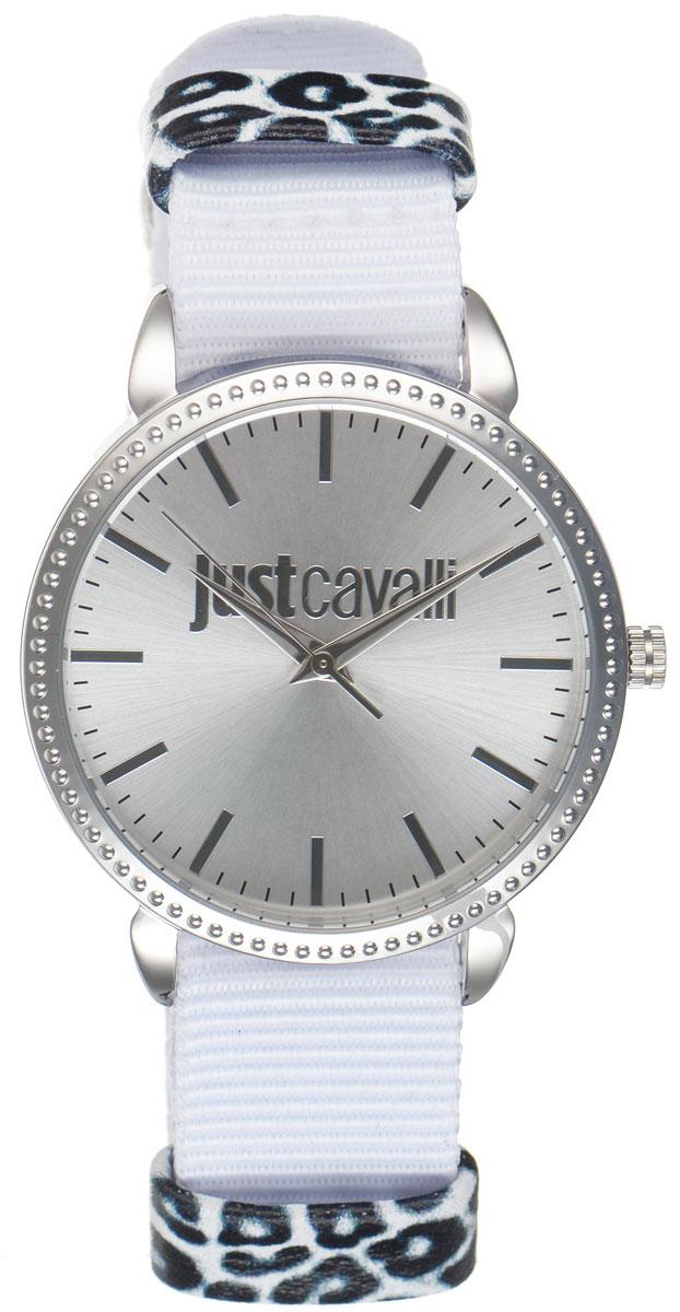 Часы наручные женские Just Cavalli, цвет: белый. R7251528504BM8434-58AEОригинальные женские часы Just Cavalli произведены из материалов самого высокого качества на базе новейших технологий.Корпус часов выполнен из нержавеющей стали. Циферблат дополнен минеральным стеклом и имеет степень влагозащиты равную 3 atm. Текстильный ремешок имеет практичную пряжку, которая позволит моментально снимать и одевать часы без лишних усилий.Часы поставляются в фирменной упаковке. Наручные часы Just Cavalli созданы для современных девушек, которые не желают потерять свою индивидуальность в городской суете.